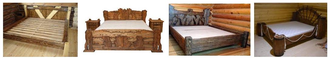 Кровати состаренные - иллюстрация, фото, коллаж