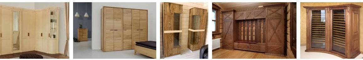 Деревянные шкафы - иллюстрация, фото, коллаж