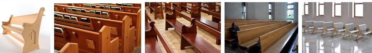 Скамьи в церковь - иллюстрация, фото, коллаж