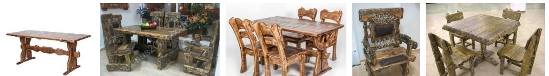 Столы для кафе под старину, фото
