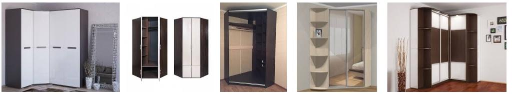 Деревянные угловые шкафы - иллюстрация, фото, коллаж