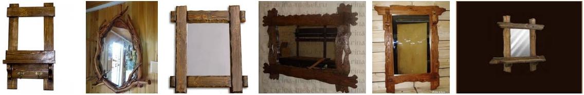 Состаренные зеркала - иллюстрация, фото, коллаж